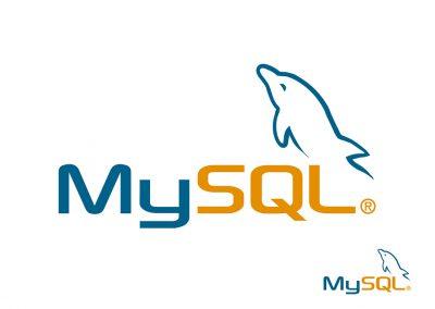 MySQL logo, suunnittelijaparina toimi Renne Angelvuo