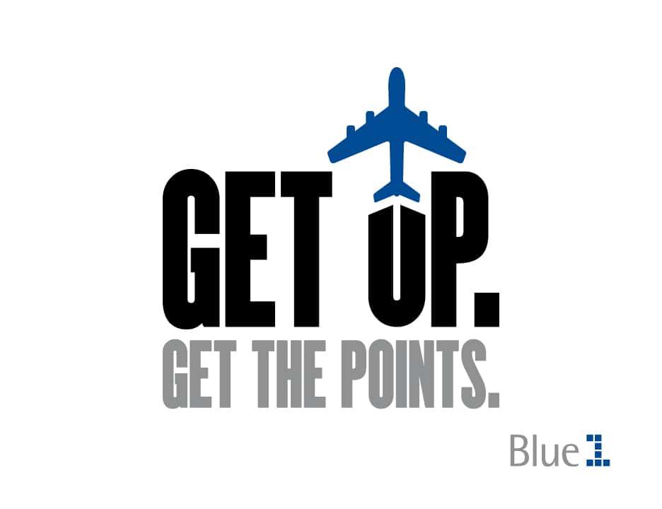 Blue1, Get Up Get The Points. Lentopisteide saalistaminen nuorisolle