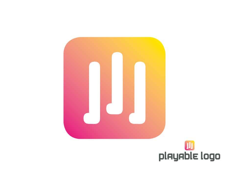Playable logo tuo äänimaailman logoille