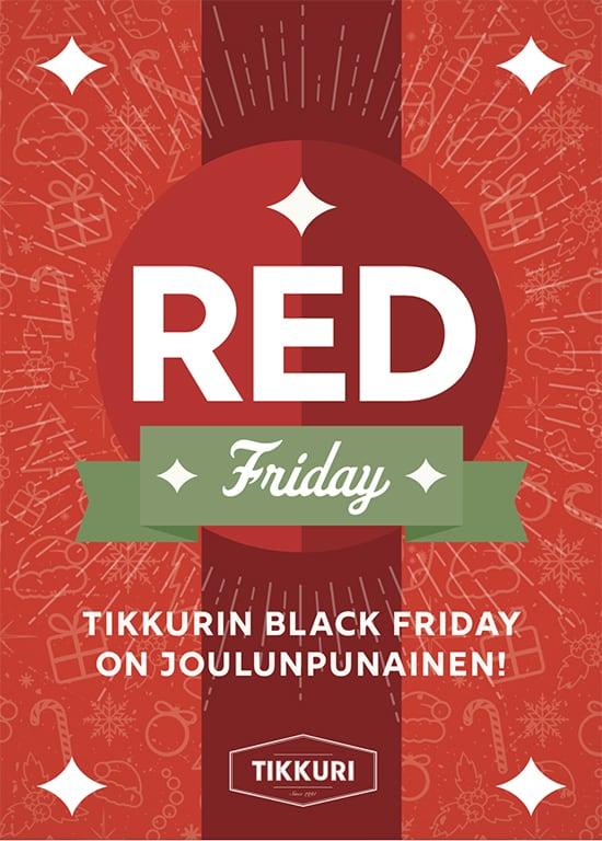 TIKKURI Red Friday